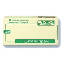 Циталопрам таблетки 10 мг, 30 шт.