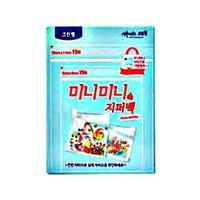 Clean Wrap Плотные полиэтиленовые МИНИ-пакеты на зип-молнии 8см х 9см, 15шт