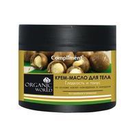 Complimen Organic World крем-масло для тела Гладкость и тонус 300 мл