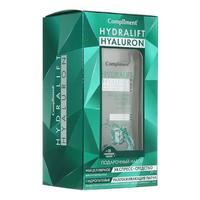 Compliment Hidralift Hyaluron Подарочный набор №1130 (миц.ср-во для снят.макияжа 200мл + патчи (2 пары)