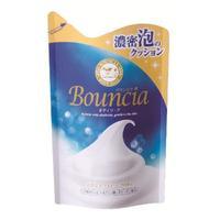 Cow мыло жидкое Bouncia сливочное для рук и тела аромат чистоты и свежести мягкая упаковка 430 мл