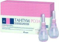 Тантум роза флаконы 0.1%, 140 мл, 5 шт.