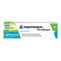 Д-Пантенол-Нижфарм крем для наружного применения 5% 25 г
