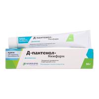 Д-Пантенол-Нижфарм крем для наружного применения 5% 50 г