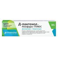 Д-пантенол-Нижфарм-ПЛЮС крем для наружного применения 30 г