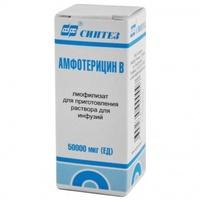 Амфотерицин в для инфузий 50000мкг фл