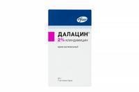 Далацин крем вагинальный 2% , 40 г+7 аппликаторов