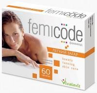 Фемикод легкий загар капсулы, 60 шт.