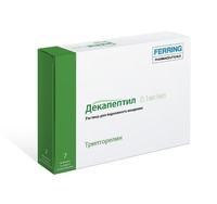 Декапептил раствор для п/кожн введен. 0,1 мг/мл 1 мл ампулы 7 шт.