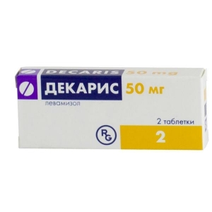 Декарис таблетки 50 мг, 2 шт.