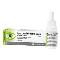 Декса-Гентамицин глазные капли , 5 мл