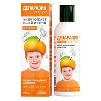 Депаразин-Ультра шампунь педикулицидный Апельсин 200 мл