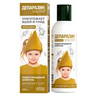 Депаразин-Ультра шампунь педикулицидный Женьшень 200 мл
