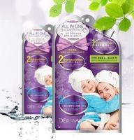 Dermal Набор для душа пенка для умывания, шампунь и ополаск., мочалка и полотенце 1 набор