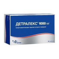 Детралекс таблетки 1000 мг 18 шт.