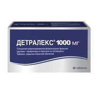 Детралекс таблетки 1000 мг 30 шт.