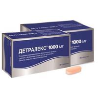 Детралекс таблетки 1000 мг 60 шт.