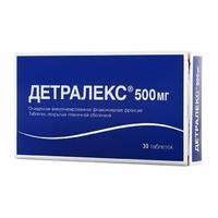 Детралекс таблетки 500 мг, 30 шт.