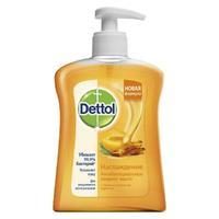Деттол Мыло жидкое Наслаждение с ароматом абрикоса и меда с дозатором 250 мл упак.