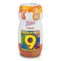 Девятка здоровья гранулы для р-ра для приема внутрь Апельсин 200г
