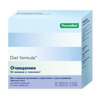Диет формула Очистка от шлаков и токсинов таблетки, 2 упаковки по 60 шт.