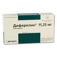 Диферелин 11,25 мг n1 фл + р-ль