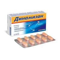 Динамизан таблетки, 30 шт.