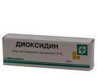 Диоксидин мазь 5% , 30 г