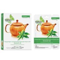 Дизао Маска Зеленый чай для лица и шеи, 10 шт.