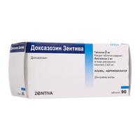 Доксазозин Зентива таблетки 2 мг 90 шт.