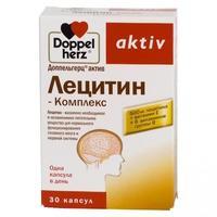 Доппельгерц актив лецитин-комплекс капсулы, 30 шт.