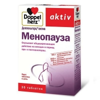 Доппельгерц актив менопауза таблетки, 30 шт.