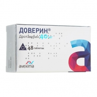 Доверин таблетки 40 мг 48 шт.