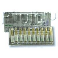 Кеторол ампулы 30 мг/мл, 1 мл, 10 шт.