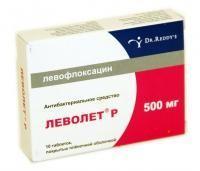 Леволет р таблетки 500 мг, 10 шт.