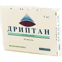 Дриптан таблетки 5 мг, 30 шт.