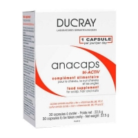 Ducray Аnacaps tri-Activ для укрепления волос, кожи головы и ногтей капсулы 3х30 шт.