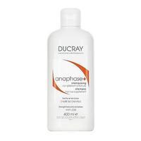 Ducray Anaphase+ шампунь стимулирующий для ослабленных, выпадающих волос без парабенов 400 мл