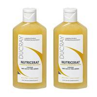Ducray Nutricerat шампунь сверхпитательный для сухих волос 200 мл 2 шт.