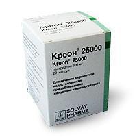 Креон 25000 капсулы 300 мг, 20 шт.