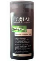 EcoLab Гель для душа Кипарис и Зеленый чай мужской 250 мл