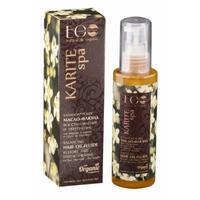 EcoLab масло-флюид балансирующее для волос Для восстановления сухих кончиков волос масло карите 100 мл