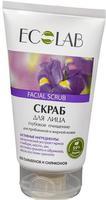 EcoLab Скраб для лица глубокое очищение для проблемной и жирной кожи 150 мл