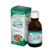 Эдас-117 капли гомеопатические , 25 мл