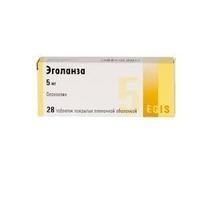 Эголанза таблетки покрыт.плен.об. 5 мг 28 шт.