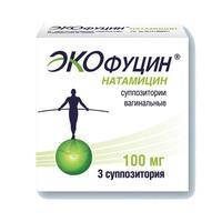Экофуцин суппозитории вагинальные 100 мг 3 шт.