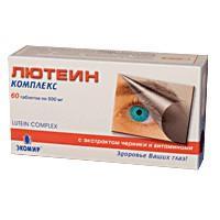 Лютеин-комплекс таблетки, 60 шт.