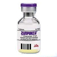 Зипрекса флакон 10 мг, 5 мл