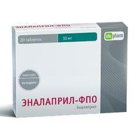 Эналаприл-ФПО таблетки 10 мг 20 шт.