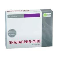 Эналаприл-ФПО таблетки 20 мг 20 шт.